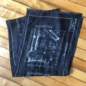 Unique Louis Vuitton 100% Silk Scarf